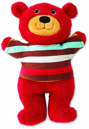 Zutano Plush with Rattle, Little Bear