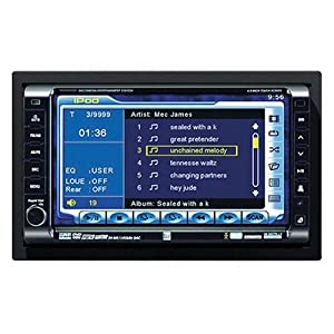 Dual XDVD8285 2.0 Din In-Dash Mobile Video with 6.5-Inch Touch Screen LCD