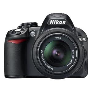 D3100 SLR-Digitalkamera mit 18-55 VR Objektiv
