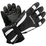 Black Canyon Womens Skiing Gloves - L, Black
