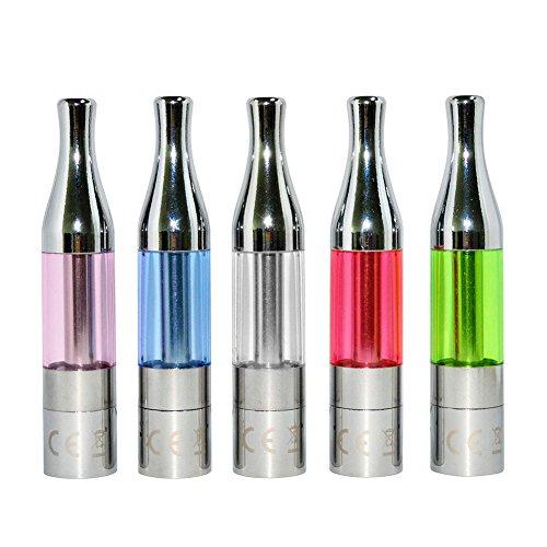 Salcar 5x Mini Protank Verdampfer für e-Zigarette, 1,8ml, 2.4±0.2 ohm, 0,00mg Nikotin, im Verschiedener Farben