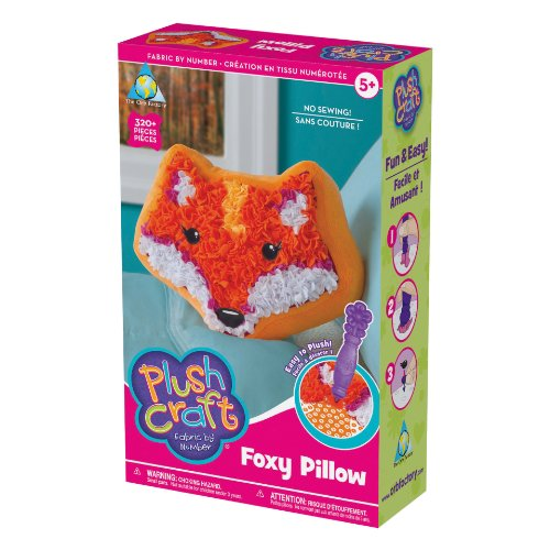 The Orb Factory PlushCraft Foxy Pillow