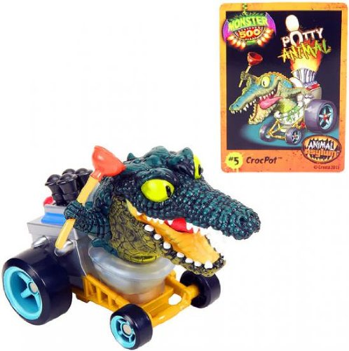Monster 500 Large Car & Trading Card - CrocPot
