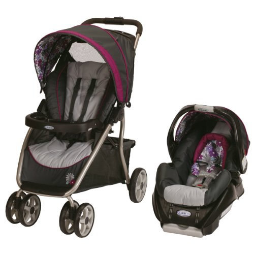 Graco Dynamo Lite Classic Connect Travel System, Portia