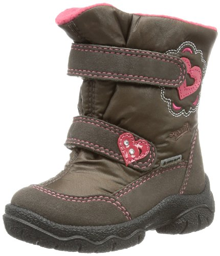 Superfit Girls Fairy Snow Boots Brown Braun (Mocca Kombi 11) Size: 33