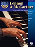 Lennon and McCartney: Keyboard Play-Along Volume 14 (Hal Leonard Keyboard Play-Along) (1423443098) by Beatles, The