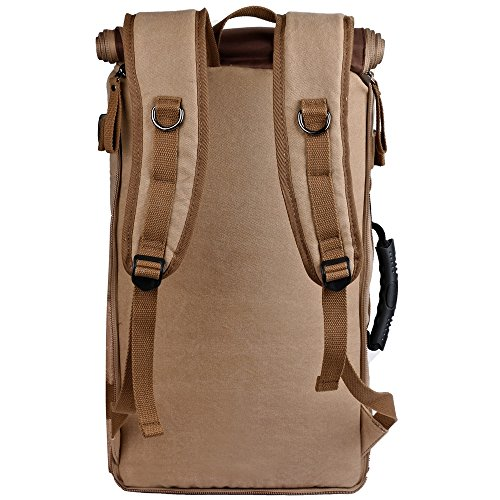 ibagbar canvas backpack travel bag hiking bag cing bag