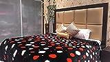 Tima Velvet Double Comforter- Black