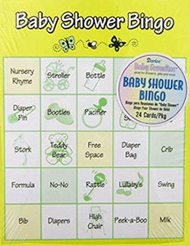Baby Shower Bingo Game, 48 Piece