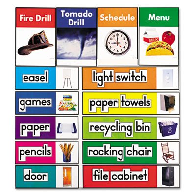 Carson-Dellosa Publishing 119016 Quick Stick Bulletin Board Set- Class Labels
