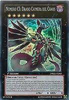 Yu-Gi-Oh! - DRLG-IT043 - Numero C5: Drago Chimera Del Chaos - Draghi della Leggenda - 1st Edition - Super Rara