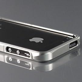 Home iPhone 5 iPhone 5 Metal Case 7900 Metal Bumper ZuGadgets Silver