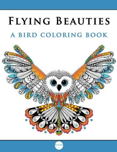 How To Download Flying Beauties A Bird Coloring Book ArtsON Adult Books Volume 2