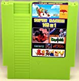 143 in 1 NES Cartridge with Battery for Saving Games - Zelda, Super Mario Bros 1 2 3, Tecmo Super Bowl, Final Fantasy 1 2 3, Kid Icarus