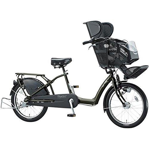 ブリヂストン(BRIDGESTONE) アンジェリーノプティット Angelino petite AG20-5 T.マットカーキ 子供乗せ自転車