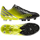 adidas Predator LZ TRX FG Soccer Cleats - Black with Lab Lime by adidas