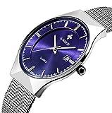 Genießen Armbanduhren Automatik Chronograph Uhr Edelstahl...