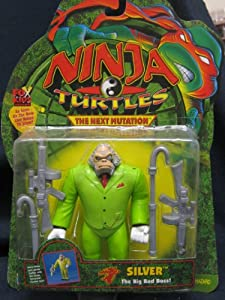 Amazon.com: Ninja Turtles The Next Mutation Silver 1997: Toys & Games