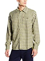 CMP Campagnolo Camisa Hombre 3T18947 (Verde)