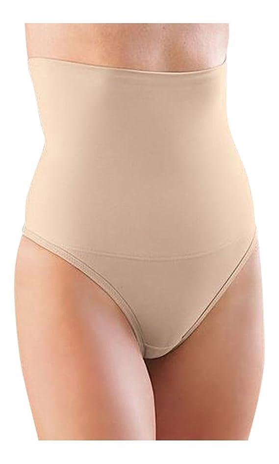 Glamorise Hi-Waist-Slimmer Smoothing Thong Panty