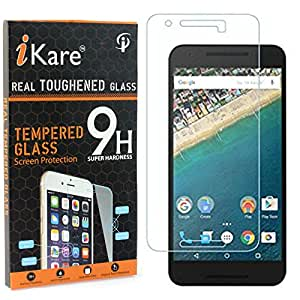 iKare Pack of 2 Tempered Glasses for LG Nexus 5X, Tempered Screen Protector for LG Nexus 5X