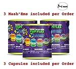 Ninja Turtles Mash'Ems Lot of 3 Myste...