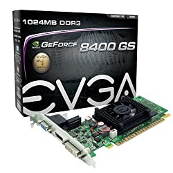 EVGA GeForce 8400 GS 1 GB DDR3 PCI Express 2.0 DVI/HDMI/VGA Graphics Card 01G-P3-1302-LR