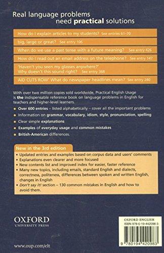 Practical English Usage, Third Edition: Paperback
