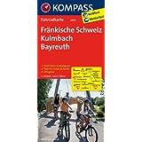 Fränkische Schweiz - Kulmbach - Bayreuth: Fahrradkarte. GPS-genau. 1:70000 (KOMPASS-Fahrradkarten Deutschland)