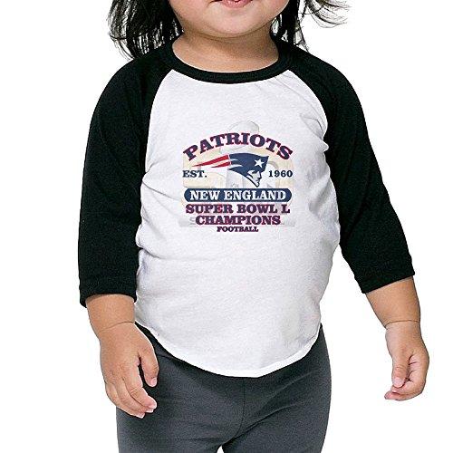クール 子供 アイスホッケー チーム ニューヨーク レンジャース Tシャツ 100%棉 Black Size 4 Toddler