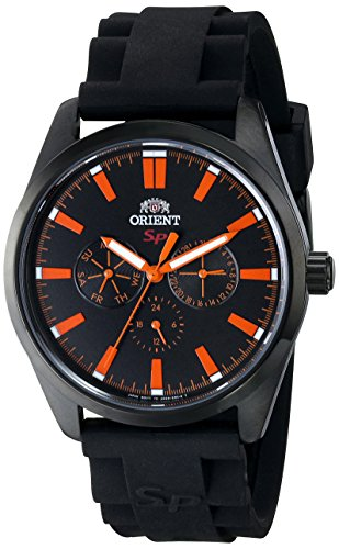 Orient Men's FUX00002B0 SP Analog Display Japanese Quartz Black Watch