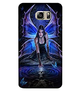 ColourCraft Lovable Angel Design Back Case Cover for SAMSUNG GALAXY NOTE 7
