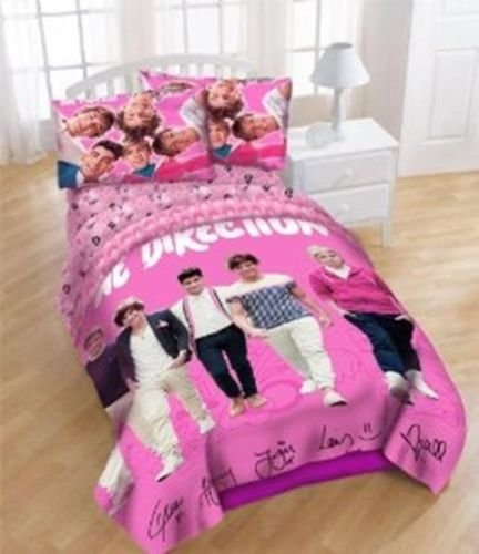 One Direction Bed Comforter front-876667