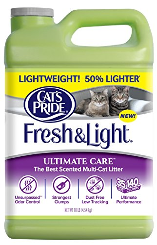 Cat's Pride Fresh and Light Ultimate Care Scented Multi-Cat Litter, 10 lb (Amazon Cat Litter compare prices)