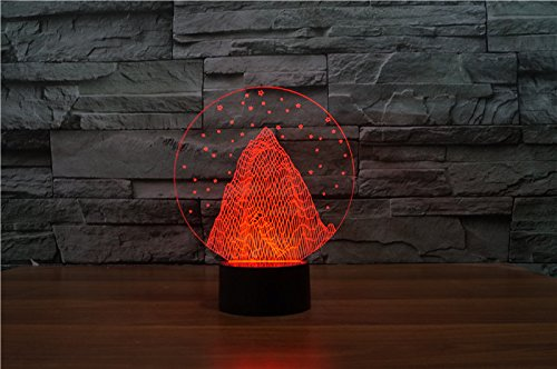 acrylique-3d-light-art-snow-mountain-rainbow-light-creative-lumiere-vision-lumiere-red