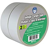 Intertape 9970-2P Indoor Carpet Tape, 1.88-Inch x 36-Yard, 2-Pack