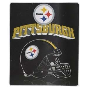 "NFL Fleece Blankets, 50"" x 60"", Steelers"