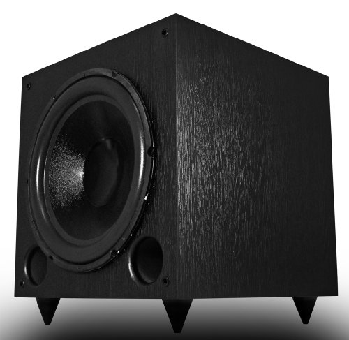 Osd Audio Ps12 12-Inch High Powered 175-Watt Premium Home Theatre Subwoofer, Black