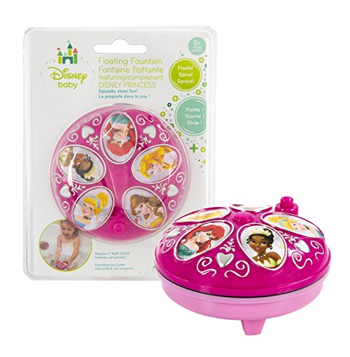 Disney Princesses Floating Fountain - Makes Bath Time Engaging - Waterproof - 1