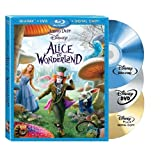 Alice in Wonderland (Three-Disc Blu-ray/DVD Combo + Digital Copy) ~ Johnny Depp