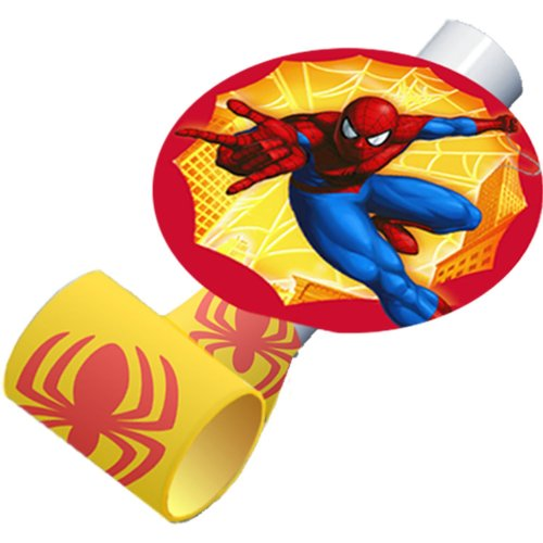 Spider-Man Spider Sense Blowouts / Favors (8ct) - 1
