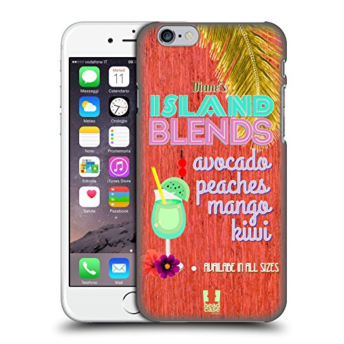 Head Case Designs Island Blends Beach Signs Protective Snap-on Hard Back Case Cover for Apple iPhone 6 4.7