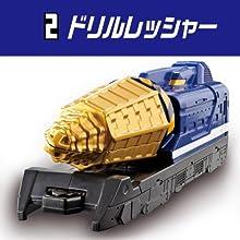 烈車戦隊トッキュジャー SGトッキュウレッシャー4(食玩版) [2.ドリルレッシャー](単品)