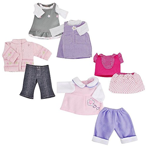 You & Me 12-15 Inch 5-In-1 Doll Fashions front-889099