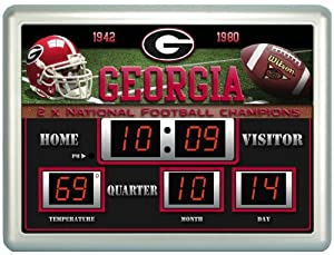 Buy Team Sports America Collegiate Scoreboard Clock by Caseys