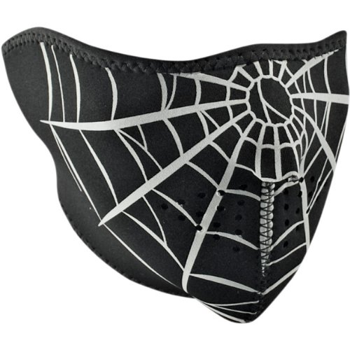 Zan Headgear Spider Web Neoprene Cold Weather Half Face Mask