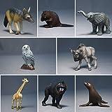 ミニチュアプラネット Vol.4 -集めて広がる動物フィギュアの世界- 全8種セット エイコー プライズ