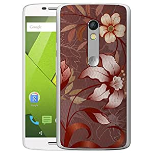 Digione Back Replacement Texture Plastic Cover Panel Battery Cover Snap On Case Cover For Motorola Moto X Play (1St Gen)
