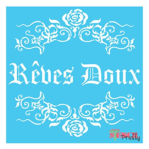 french-reves-doux-stencil-x-small-9-x-9