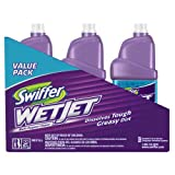 3 Pack (3 Liters) Swiffer WetJet Cleaner Refills 32695-Open Window Fresh